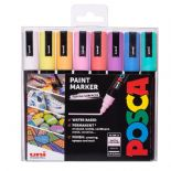 Posca 2.5mm PC-5M Marker 8 Piece Pastel Set 2019